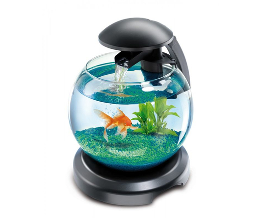 Tetra Cascade Globe аквариумный комплекс черный 6,8 л, фото , изображение 3