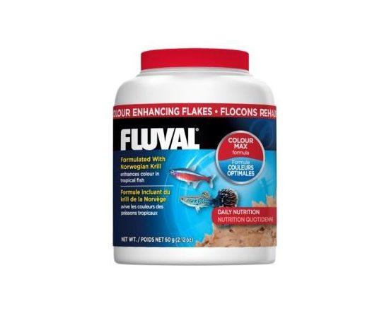 Корм для усиления окраса рыб Fluval хлопья, Объем: 125 мл, фото