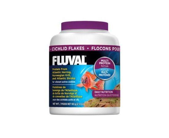 Корм для цихлид Fluval хлопья, Объем: 125 мл, фото
