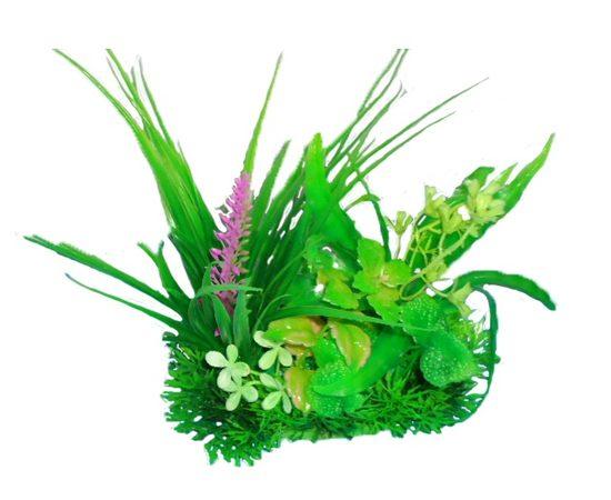 Композиция из пластиковых растений 15 см PRIME M616 , фото