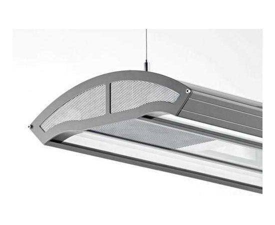 Светильник Giesemann INFINITI серебро HQ/T-5 мет/гал. 3x150w люм. 4х80w L-180cм., фото
