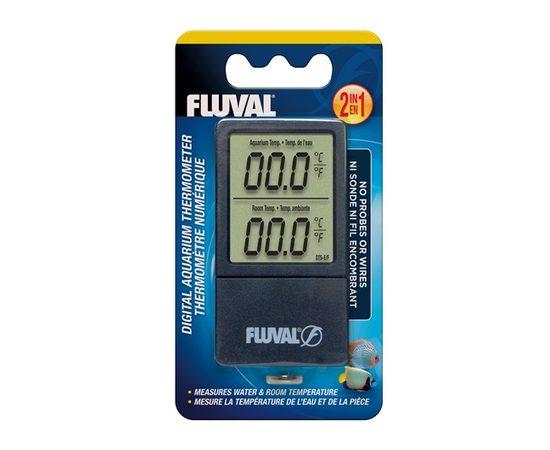 Цифровой термометр Fluval 2-в-1, фото