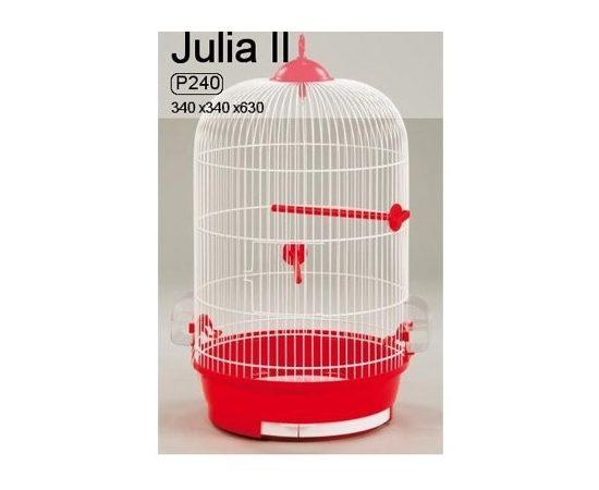 Клетка для птиц JULIA II OKRUGLA II 340х630 цвет в ассортименте, - 1 -aquamagaz.ru