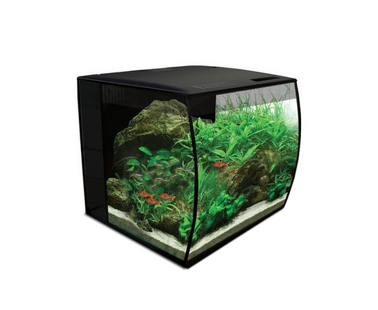 Аквариум Fluval Flex34л с изогнутым стеклом 330х330х350мм, фото