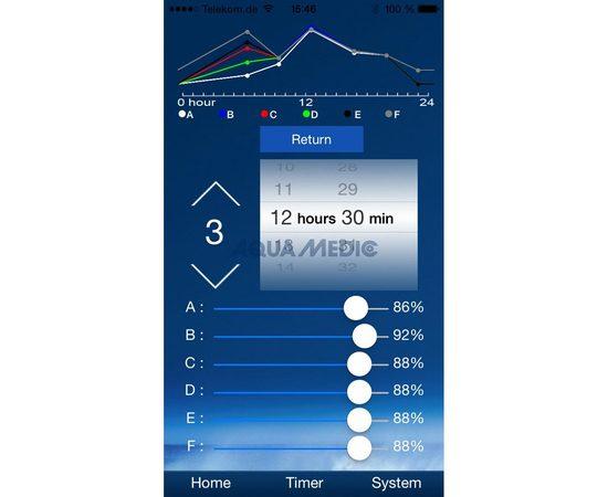 Светильник LED Spectrus 90 6 рег. каналов WiFi iOS/Android 210Вт 880x265x32 мм, фото , изображение 8