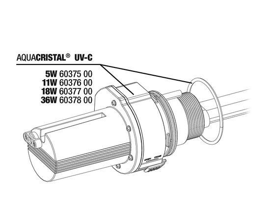 JBL ProCristal UV-C Electrical unit 11W - Сменный электрический модуль для JBL ProCristal UV-C 11 Вт, - 3 -aquamagaz.ru