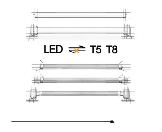 Cветильник Zetlight Lancia LED Zp4000-1200 под патрон Т5 и Т8 пресный, - 6 -aquamagaz.ru