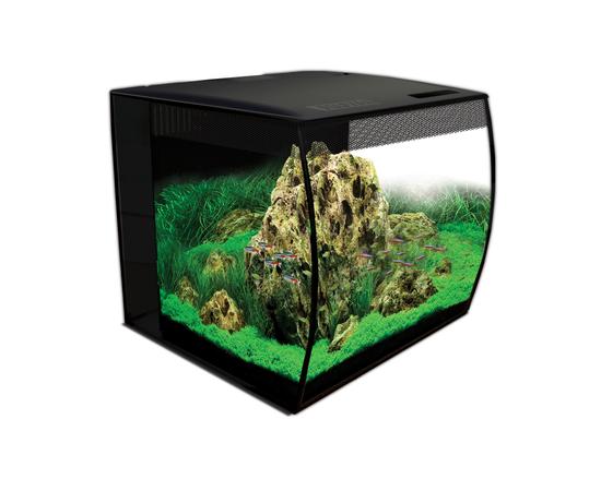 Аквариум Fluval Flex57л с изогнутым стеклом 390х390х415мм, - 1 -aquamagaz.ru