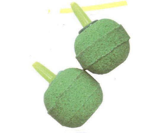 Распылитель камень-шарик зелёный большой 2шт, фото