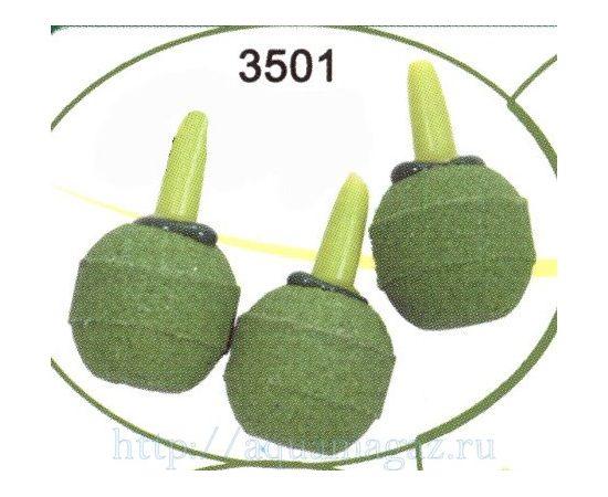 Распылитель камень-шарик зелёный малый 3шт, - 1 -aquamagaz.ru