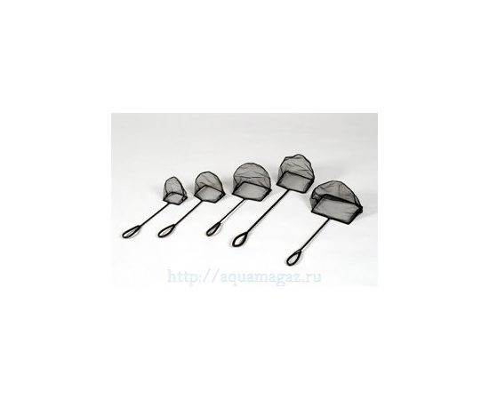 Сачок черный 15-30 см, фото , изображение 2
