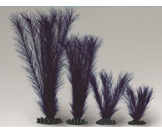 Растение Перистолистник синее 20см шелковое, фото