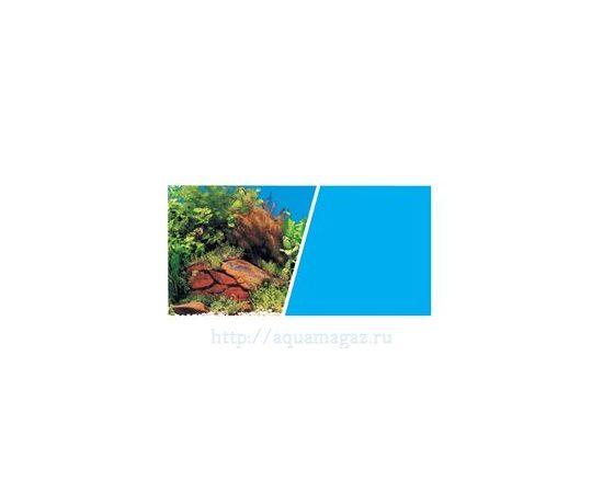 Фон Растения на камнях и Голубой 45 см 7,5 м , фото