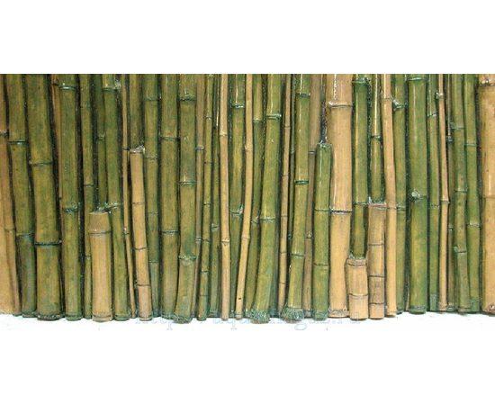 Фон рельефный Бамбук 118х58см зеленый, фото , изображение 2