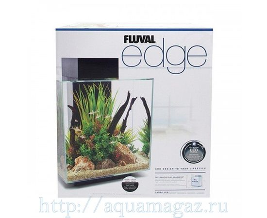 Аквариум Fluval Edge 46л LED белый, - 4 -aquamagaz.ru
