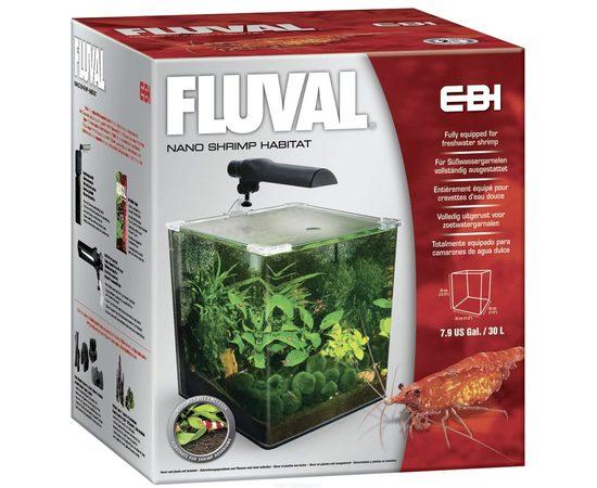 Аквариум Fluval EBI 30 литров 35x30x30, - 2 -aquamagaz.ru