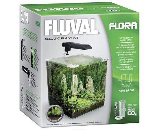 Аквариум Fluval Flora 30 литров 30x30x30, - 2 -aquamagaz.ru