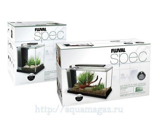 Аквариум Fluval SPEC 3 черный 10 литров, - 2 -aquamagaz.ru