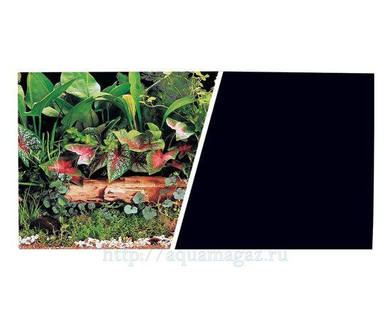 Фон Зеленые растения и Черный 45 см 7,5 м, - 1 -aquamagaz.ru