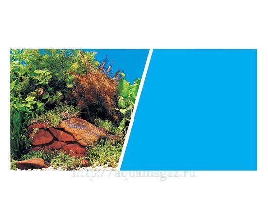 Фон Растения на камнях и Голубой 45 см 7,5 м , фото , изображение 2