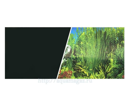 Фон черный и растительный 45см 7,5 м, - 1 -aquamagaz.ru