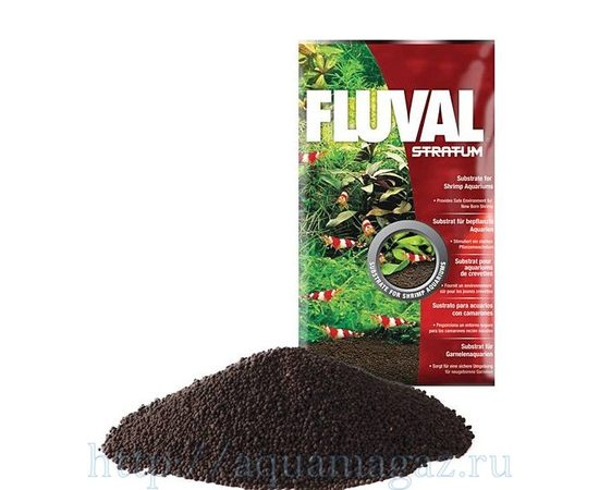 Fluval ShrimpPlantStratum, Штук в упаковке или вес: 4 кг., фото