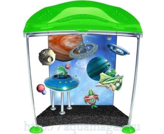 Аквариум для детей Инопланетянин 10л, - 1 -aquamagaz.ru