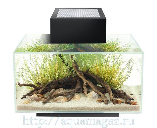 Аквариум Fluval Edge LED 23л чёрный, - 2 -aquamagaz.ru