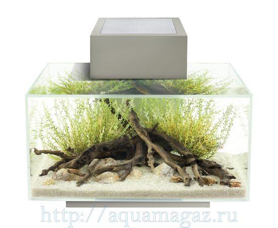 Аквариум Fluval Edge LED 23л серый, - 4 -aquamagaz.ru