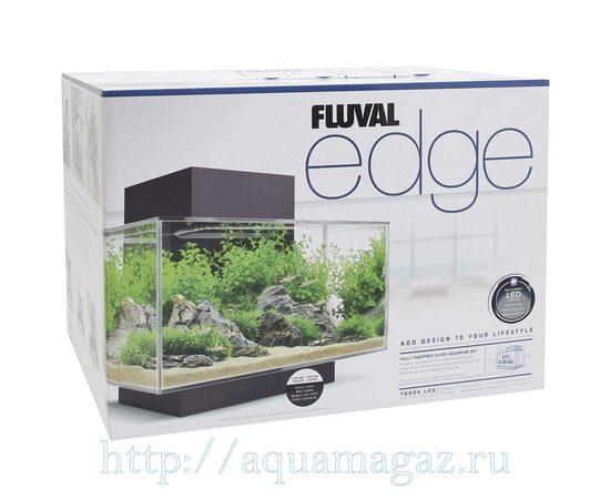 Аквариум Fluval Edge LED 23л серый, - 6 -aquamagaz.ru