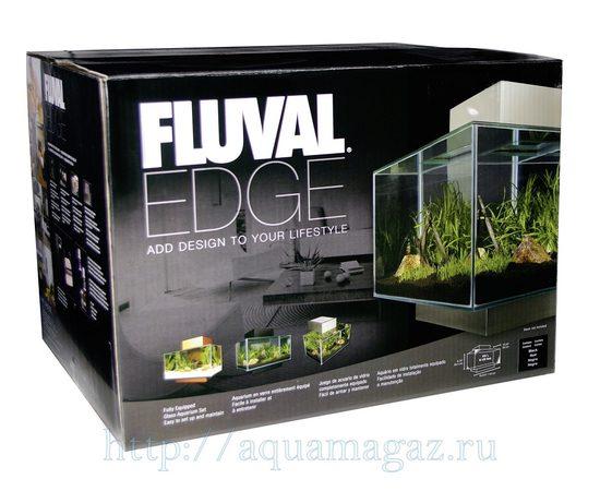 Аквариум Fluval Edge черный 46л LED, фото , изображение 2