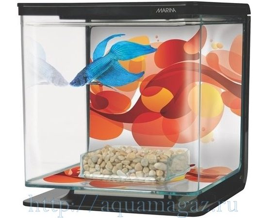 Аквариум Marina Betta Kit Sun Swirl, - 3 -aquamagaz.ru