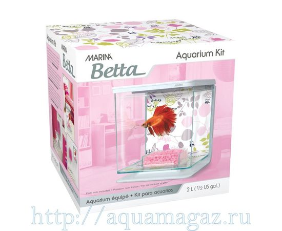 Аквариум Marina Betta Kit Floral, - 2 -aquamagaz.ru