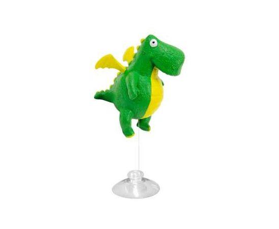 Зеленый дракончик (игрушка-поплавок)8х6.5х8.5см. Prime, - 1 -aquamagaz.ru