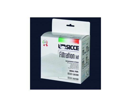 Фильтрующие губки для внешнего фильтра SICCE WHALE 350-500 3 шт., - 1 -aquamagaz.ru