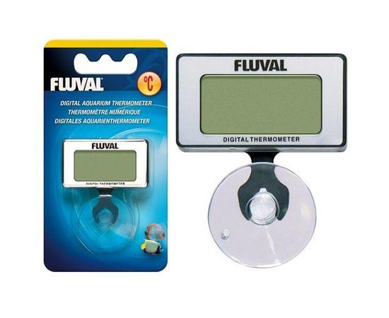 Погружной цифровой термометр Fluval на присоске, - 2 -aquamagaz.ru