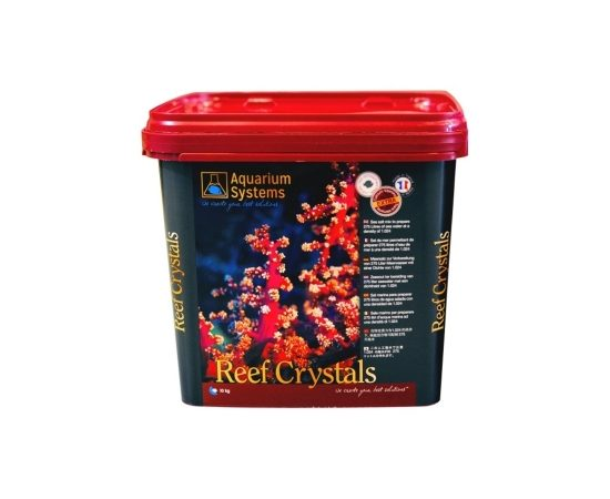 Морская соль Aquarium Systems Reef Crystals, Фасовка: Ведро 10 кг, фото