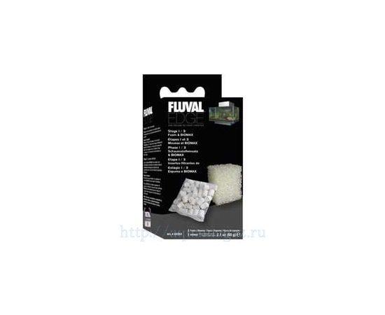 Набор губка и наполнитель керамический 60гр для FLUVAL EDGE, фото , изображение 2