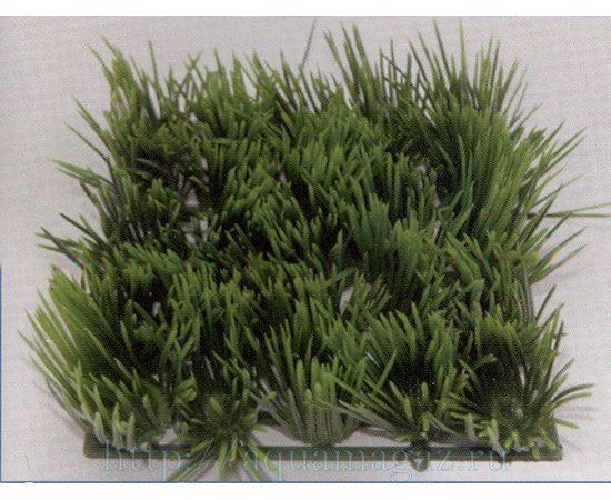 Растение Коврик 12,5х25 см зеленое , фото