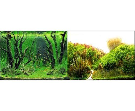 Фон 50см. Коряги с растениями и Растительные холмы, фото
