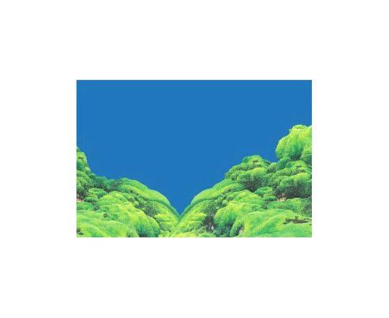 Фон 50см. Ландшафт из мха темно-синий, фото