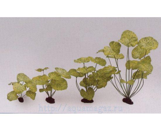 Растение Нимфея желтое 12см шелковое, - 1 -aquamagaz.ru