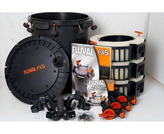 Канистровый фильтр Fluval FX5, фото , изображение 2