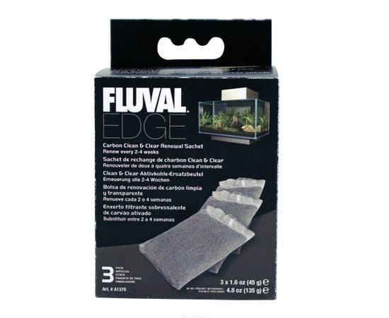 Уголь активированный для фильтра Fluval Edge, фото , изображение 2