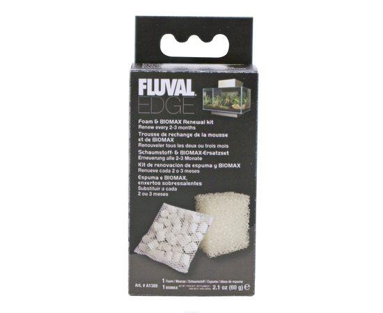 Набор губка и наполнитель керамический 60гр для FLUVAL EDGE, фото