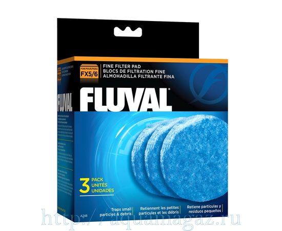 Губка тонкой очистки для фильтров FLUVAL FX5 3 упаковки , фото