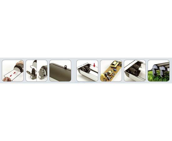 Светильник навесной алюминиевый Glo T5 1x54Вт 122cm , фото , изображение 7
