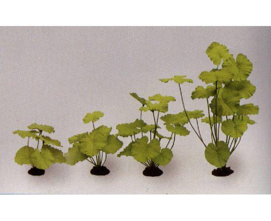 Растение Нимфея зеленое 40см шелковое, - 1 -aquamagaz.ru