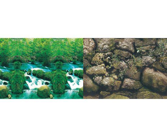 Фон 50см. Водопад и Камни, фото