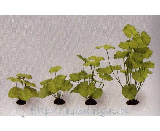 Растение Кувшинка зеленое 20см шелковое, фото